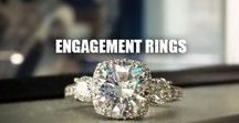 ★ ENGAGEMENT RINGS ★ / Engagement rings and wedding bands