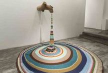 art&fashion / instalations, conceptual art, textile manipulation, fashion,