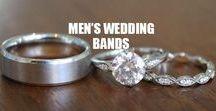 ★ MENS WEDDING BANDS ★ / Men's wedding rings