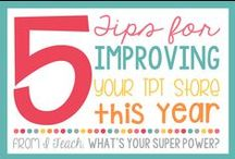All About Tpt / Find all kinds of helpful tips and tricks to grow your Teachers Pay Teachers store!