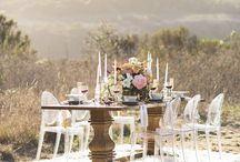 Wedding elegant table style / Elegante table style