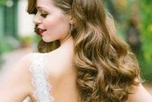 inspo gOrGeOUs Hair / Bridal hairdos for long or short hair!