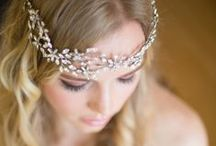 Bridal Hair Jewelery / Hair adornment with jewels