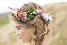 Bridal Hair with Flowers / Bridal Hairstyles with Flowers