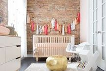 Nifty Nurseries / Lots of inspiration for decorating your baby nursery. From gorgeous neutrals to themed nurseries and cute nursery ideas for boys and girls!