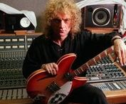 Lou Gramm - in the recording studio....