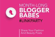 Fashion and Beauty Blogger Link Party Group Board / After linking up to Blogger Babes Month-Long Fashion and Beauty Post Link Party you can pin your link to this board. Please show support for your fellow Blogger Babes, visit their links, leave some comment love, pin it and share! Follow your hosts @TheBloggerBabes, then email contact@bloggerbabes.com to request to join the board. *Please only pin links you have added to the current Link Party.*