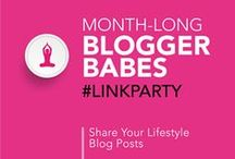 Lifestyle Post Link Party Group Board / After linking up to Blogger Babes Month-Long Lifestyle Post Link Party you can pin your link to this board. Please show support for your fellow Blogger Babes, visit their links, leave some comment love, pin it and share! Follow your hosts @TheBloggerBabes, then email contact@bloggerbabes.com to request to join the board. *Please only pin links you have added to the current Link Party.*
