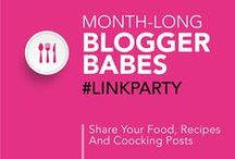 Food/Recipe and Cooking Post Link Party Group Board / After linking up to Blogger Babes Food/Recipe and Cooking Post Link Party you can pin your link to this board. Please show support for your fellow Blogger Babes, visit their links, leave some comment love, pin it and share! Follow your hosts @TheBloggerBabes, then email contact@bloggerbabes.com to request to join the board. *Please only pin links you have added to the current Link Party.*