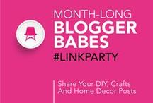 Crafts/DIY/Home Post Link Party Group Board / After linking up to Blogger Babes Month-Long Crafts/DIY/Home Post Link Party you can pin your link to this board. Please show support for your fellow Blogger Babes, visit their links, leave some comment love, pin it and share! Follow your hosts @TheBloggerBabes, then email contact@bloggerbabes.com to request to join the board. *Please only pin links you have added to the current Link Party.*