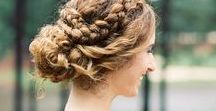 bRiDal UPDOS low chignons / beautiful bridal chignons