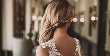 "bridal hair ""SwePt aSiDe"""