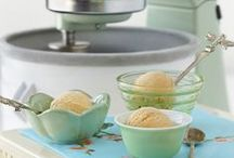 We All Scream For Ice Cream!! / On a hot, humid Summer's day there is nothing sweeter than a big bowl of ice cream to cool you down. The KitchenAid Ice Cream Attachment is perfect for making ice cream, sorbet, gelato or frozen desserts.