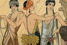 Art Deco Style_The twenties. / The roaring 20's, flappers and more... / by Minnerva Munoz