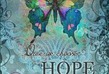 Butterfly, Birds & Ladybugs / When I see a butterfly it reminds me of you mom. Also lily of the valley & lilacs & yellow flowers.died (5-12-12)she was 68. Love & miss you ! Also Grandma died(1-9-15)  age 97  / by Kelly Tran