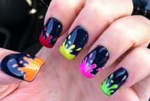 Nails/ makeup