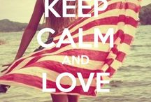 Keep Calm Signs / Thank you for following. Have fun pinning. / by Kelly Tran
