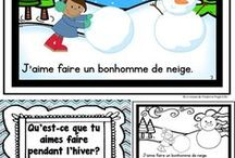 Mes Ressources en Francais (sur TPT) / A variety of French Language and Math Activities for sale on my TPT store:  http://www.teacherspayteachers.com/Store/La-Classe-De-Madame-Angel