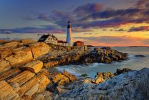 Lighthouses  / Thank you for following. Have fun pinning. / by Kelly Tran