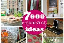 Organising and Cleaning; Fab ideas