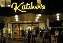 "Kutsher's Signs / ""Welcome to Kutsher's"" is a documentary about the Last Catskills Resort. Now on DVD & Digital: www.kutshersdoc.com/buy-the-film. Info: kutshersdoc@gmail.com. This board has pins of Kutsher's iconic signs."