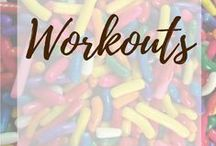Workouts / Exterminate the flab with workouts! Most of my boards are about desserts so this one about workouts pretty well equalizes thing... Right?