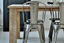 Cadeiras Tolix / Cadeiras, chairs