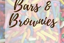 Bars & brownies / Cookie bars and brownies of all descriptions​!