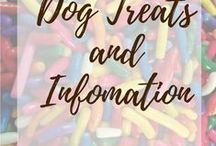 Dog treats and information / Dog DIY, treats, helpful info, products, and funnies