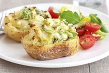 Jacket potatoes! / Ideas and inspiration to take baked potatoes to the next level!