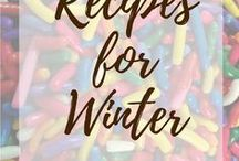Recipes for Winter / Warm, heavy, and satisfying desserts you crave in the winter months.