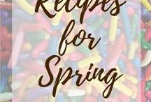 Recipes for Spring / Recipes that remind me to springtime, light​ and fruity desserts mostly.