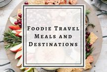 Foodie Travel Meals and Destinations / Foodie travel. Travel food. Foodie destinations. Food travelers. Travel meals. Worldwide cuisine. Food from around the world.