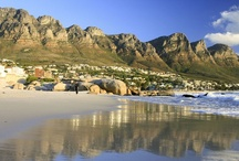 Camps Bay, Cape Town / One of the most vibrant and popular suburbs in Cape Town, Camps Bay lies just beyond the four beaches of Clifton in an exceptionally beautiful setting amongst the Twelve Apostles and Lion's Head, on the other side of Table Mountain... see http://www.sa-venues.com/attractionswc/camps-bay.php