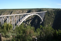 Bloukrans Bridge, Garden Route / The Bloukrans Bridge is situated in the heart of the Garden Route, 40 km from Plettenberg Bay in the Tsitsikamma forest area.