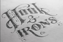 3FO Muse / 19th Century Logo Inspiration / Early 19th Century logo inspiration. Marks, typography, ads, poster design, embellishments, etc.