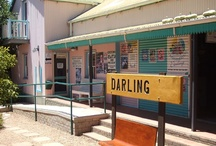 Darling, Western Cape / The charming little village of Darling lies between vineyards and golden wheat fields only 75km from Cape Town along the West Coast road and 25km from the beach at Yzerfontein. More info at http://www.sa-venues.com/attractionswc/darling.php