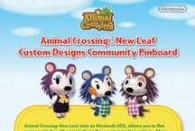 Animal Crossing: New Leaf Custom Designs Community / Welcome to the Animal Crossing: New Leaf Custom Designs Community! Just follow the instructions on the flyer to begin. Don't forget to check back often to browse designs and see if yours are featured!