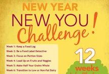 New Year New You / 12 Weeks to Healthy Living