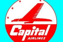 Capital Airlines / Capital Airlines was an airline serving the eastern United States that merged into United Airlines in 1961. Their primary hubs were National Airport near Washington, D.C., and Pittsburgh. In the 1950s they were the largest US domestic carrier by passenger count (and sometimes by passenger-miles) after the Big Four (American, United, TWA, and Eastern). Their headquarters was in Washington, D.C (http://en.wikipedia.org/wiki/Capital_Airlines)