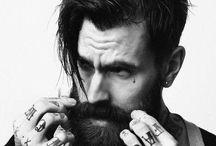 Beard, tattoo & fashion
