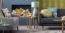 Living Rooms / From house to home tips and design inspiration.