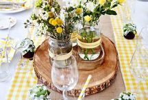 Deco I Spring & Summer / Decorations with flowers.