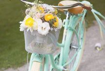 Flower your Bicycle / Flower bicycle bike #flowers #retro #bicycle #bike