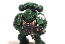 Dark Angels Inspiration / Not content with the Christmas tree look of the official dark angels I wanted some inspiration for colour schemes for my 40k dark Angels army