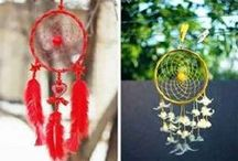 Dreamcatchers / A collection of unusual dreamcatchers to inspire making - for a list of all the items needed go to www.theidentitystore.co.uk