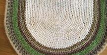 saját készítésű horgolt szőnyegek / szőnyegek