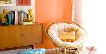 Orange You Happy / Explore the use of Orange and its various hues and shades in the different parts of your home.