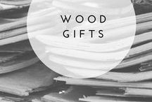 Wood {gifts} / Gifts made from wood