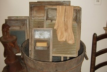 Primitive Laundry Rooms / by Beula Withrow